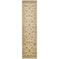 Art of Knot Yukon 2'6 inch x 10' Parchment Runner, Multicolor