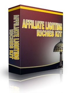Affiliate Lighting Riches Kit - Ebook And Video Series (Resell Rights)