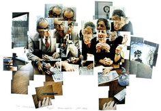 david hockney cubism photo - Google Search
