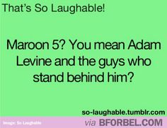 No one cares about the rest of Maroon 5, really. #adamLevine #guys #tattoos