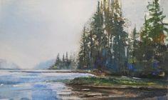 watercolor...ma non solo: Adirondack dream