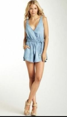 Cloth and Stone Tencel Romper | Clothing, Shoes & Accessories, Women's Clothing, Jumpsuits & Rompers | eBay!