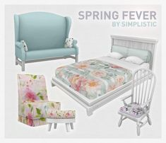Spring Fever Set at SimPlistic • Sims 4 Updates