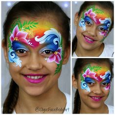 Tropical princess aka #moana #facepainting design. Video tutorial upcoming soon on my YouTube channel Olga's Face & Body Art. #faceartist #facepaint #facepainter #faceart #moanafacepaint #moana #tropicalfacepaint #tropicalprincess #islandprincess #bodypainter #bodypaint #bodyart #bodyartist #makeupforkids #makeuptutorial #makeuptropical #olgamurasev #аквагрим #аквагримдлядетей #гримдлядетей #аквагримпринцесса #ольгамурашева