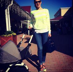 A fashion mum with her BABYZEN stroller #mum #fashion mum #BABYZEN #BABYZENYOYO  Instagram : @semyryazhka_natashka