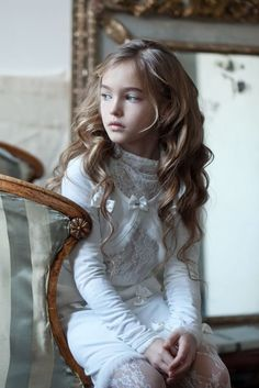 Анастасия Безрукова / Anastasia Bezrukova | VK Young Girl Models, Child Models, Tween Fashion, Little Girl Fashion, Girls White Dress, Kid Poses, Russian Models, Daddys Girl, Girly Outfits