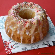 Citromos kuglóf - Hungarian lemon cake.