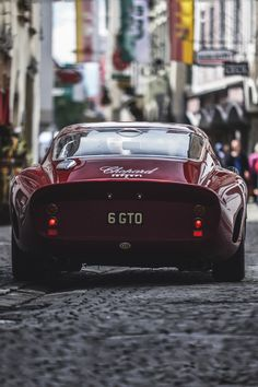 themanliness: 250 GTO | Source | MVMT | Facebook