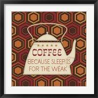 Framed Caffeine III