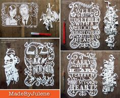 julene paper art.
