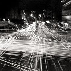"""Light tracks (I'd call this one """"Speed of light"""") // USE FOR THE GATHERING IMAGE"""