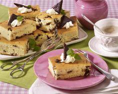 Schokoladen-Pfefferminz-Blechkuchen Rezept | LECKER