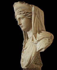Demeter. Roman copy of the 2nd century A.D., National Museum of Rome, Palazzo Altemps.