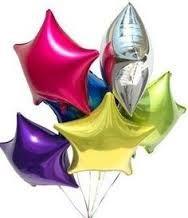 globos estrella grandes y chicos con o sin gas helio para decorar tu fiesta http://easy-party.pe/product-category/globos/globos-formas/