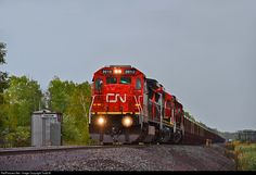 Net Photo: CN 2010 Canadian National Railway GE (Dash at Iron, Minnesota by Todd M. Canadian National Railway, Minnesota, Trains, Canada, Cars, Usa, Train, Autos, Automobile