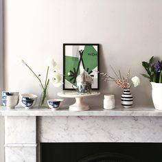 "6 Likes, 1 Comments - Caroline Rankin - Interiors (@designstories_) on Instagram: ""Spring has sprung #1882ltd #ceramics #fayetoogood #interiorstyle #styling #interiors #floral #detail"""