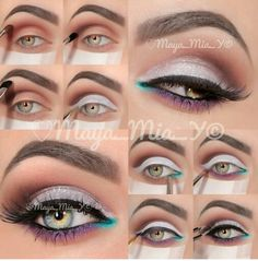 Summer Look #MakeUp #EyeShadow Make Up Artist is @Maya_mia_y on Instagram