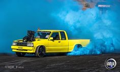 #SKDHAW #blown #ford #courier #ute #burnouts #brashernats #smokeshow #sydney #wsid #nikon #photography (at Sydney Dragway)