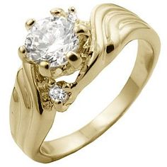 TQW10337ZCB T13 1.6 Carat Diamond Engagement Ring (6): Jewelry: Amazon.com