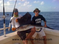 #Miami fishing charter boat, #Miami deep sea fishing charter, #Miami offshore fishing charter Enjoyed a great day deep sea fishing with Therapy IV. Despite the cool weather, the crew showed us an awesome day out on the water.visit http://www.miamicharterboat.com/cruising/index.htm #Miami private fishing charter, #Miami sailfish charter