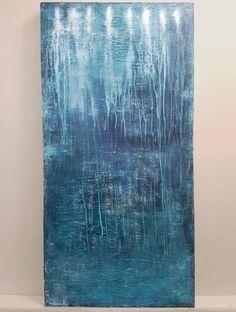 "Saatchi Art Artist Artem Bryl; Painting, ""Indigo"" #art"