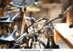 Antique Bikes Stock Photos, Images, & Pictures   Shutterstock