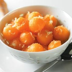 Find more healthy and delicious diabetes-friendly recipes like Cantaloupe With Fresh Ginger on Diabetes Forecast®, the Healthy Living Magazine. Pre Diabetes Treatment, Diabetic Recipes, Healthy Recipes, Cantaloupe Recipes, American Diabetes Association, Prevent Diabetes, Healthy Living Magazine, Diabetic Friendly, Fresh Ginger