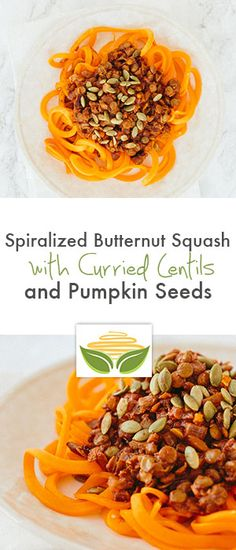 All Inspiralized Recipes, Ever! on Pinterest | Sweet Potato Noodles ...