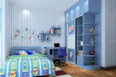 30 Latest Wardrobe Designs For Children's Room With Images - The Architecture De. 30 Latest Wardrobe Designs For Children's Room With Images – The Architecture Designs Wardrobe Designs India, Latest Wardrobe Designs, Wardrobe Door Designs, Wardrobe Design Bedroom, Kids Wardrobe, Wardrobe Doors, Bedroom Decor, Children's Furniture Store, Wardrobe Furniture