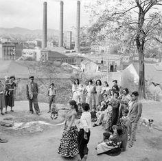 La Chunga dancing, Monjüic, Barcelona, ca. 1955 / Photo by Francesc Catala-Roca
