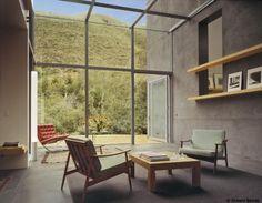 Windows + Barcelona Chair