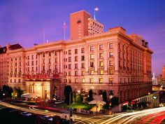 World-renowned, The Fairmont San Francisco presents an awe-inspiring picture of historic San Francisco. The grandeur of the fully-restored hotel coupled with its reputation for impeccable service promises a truly memorable experience. Central to the Financial District, Union Square and Fisherman's Wharf, The Fairmont San Francisco is located at the only spot in San Francisco where each of the City's cable car lines meet