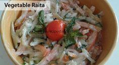 Vegetable Raita Recipe - Recipes Table