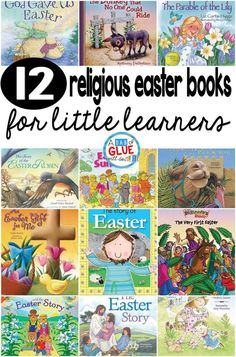 12 Religious Easter Books for Little Learners -