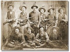 "Frontier Battalion Co. ""F"" in 1882 ©2009 TRHFM"