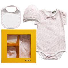 77ab24a43 Designer Baby: Fendi Fendi Gifts, Designer Baby, Baby Nest, Little  Fashionista,
