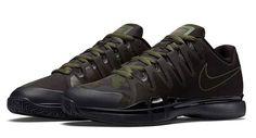 online store ac37b 339ca Nike Zoom Vapor 9.5 Tour Safari Color Black Carbon Green-Anthracite -Alligator