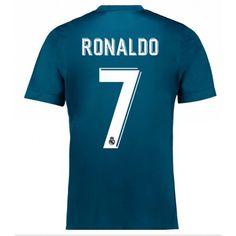 Real Madrid Cristiano Ronaldo 7 3 trøje 17-18 Kort ærmer #Billige  #Fodboldtrøjer
