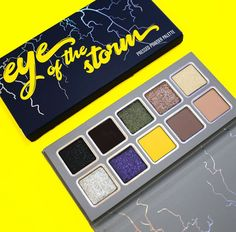 Kylie Cosmetics eye of the storm eyeshadow palette from her new weather collection #kyliecosmetics #weathercollection #kyliejenner