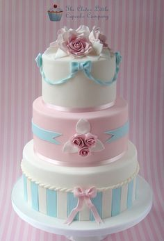 Pastel Wedding Cake   Flickr - Photo Sharing!