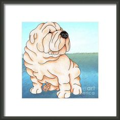 20 Best Shar Pei Art Images Shar Pei Art Dog Art