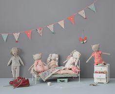 Muñecos y adornos en tonos pastel para los niños con Maileg - Mamidecora