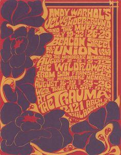 velvet underground vintage poster - Google Search