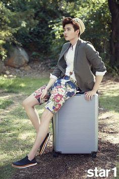 Lee Jong Suk - @ Star1 Magazine July Issue '15