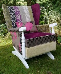 Patchwork Rocker from @Fathers Shed & FEiRD Furniture