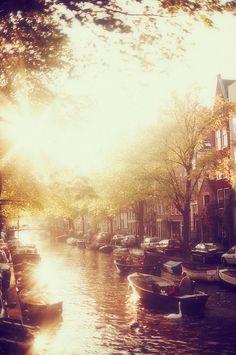 Amsterdam by boat