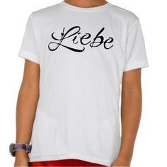 Liebe Kid's American Apparel T-Shirt