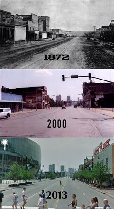 Downtown Kansas City over the years.....