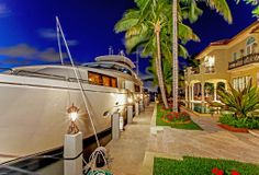 1003 Rhodes Villa Avenue, Delray Beach: Extraordinary point lot located in East Delray Beach just minutes from the famed Atlantic Avenue and one block away from the Atlantic Ocean. The residence was built in 2004 and has all the important features of New Construction. The property sits on over 240 feet of protected dockage and is located in a NO-WAKE zone which is ideal for protected yacht dockage. See the listing here: http://www.corcoran.com/florida/listings/display/2888623