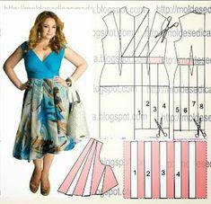 I Love Artigianato: Cartamodelli gratis Diy And Crafts, Sewing Patterns, Summer Dresses, Sew Pattern, Tops, Fashion, Pattern Sewing, Groomsmen, Kaftan